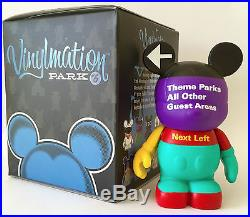 Disney Vinylmation 3 Park 6 Road Sign Theme Parks All Other Guest Areas Variant
