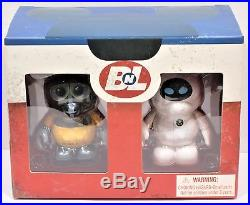 Disney Vinylmation Wall-E & Eve 3 Combo Set Limited Edition LE 500 NEW RARE HTF