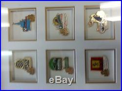 Disney WDI 50th Anniversary Imagineering Framed pin Set LE2500