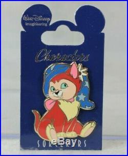 Disney WDI Characters in Sorcerer Hat LE 200 Pin Alice Wonderland Dinah Cat