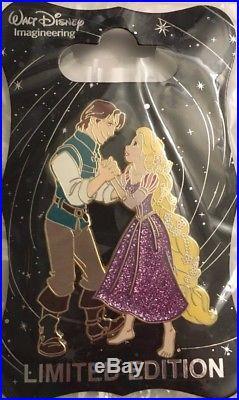 Disney WDI D23 Pins Dancing Princesses Rapunzel and Flynn Ryder