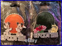Disney WDI Epcot 35th Anniversary 8 Pin Set LE 250