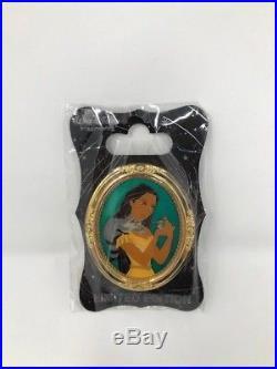 Disney WDI Gold Frame Princess LE 250 Pin Portrait Pocahontas Meeko