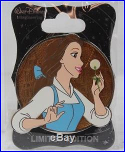 Disney WDI Imagineer LE 250 Pin Heroines Profile Beauty and The Beast Belle