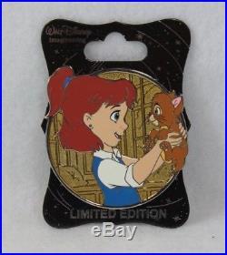 Disney WDI Imagineer LE 250 Pin Heroines Profile Jenny Oliver & Company Cat
