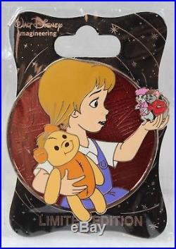 Disney WDI Imagineer LE 250 Pin Heroines Profile Penny The Rescuers Bianca