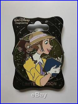Disney WDI Jane Tarzan Heroines Profile LE 250 Pin