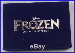 Disney WDI LE 150 Jumbo Pin Frozen Live at the Hyperion Marquee Olaf Anna Elsa