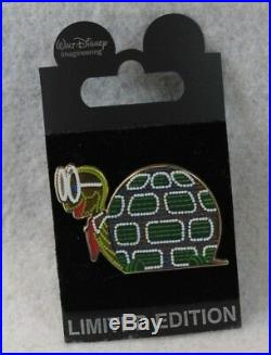 Disney WDI LE 200 Pin Main Street Electrical Parade 40th Anniversary Turtle