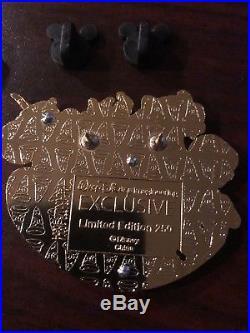 Disney WDI LE 250 Pin Character Cluster Aladdin