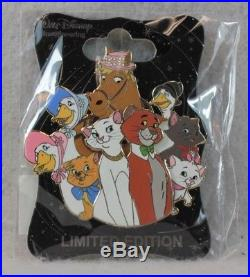 Disney WDI LE 250 Pin Character Cluster The Aristocats Marie Duchess O'Malley