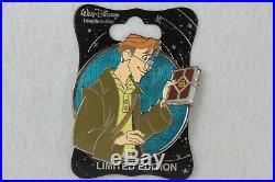Disney WDI LE 250 Pin Heroes Profile Atlantis the Lost Empire Milo Thatch