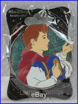 Disney WDI LE 250 Pin Heroes Profile Snow White The Prince