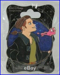 Disney WDI LE 250 Pin Heroes Profile Treasure Planet Jim Hawkins Morph