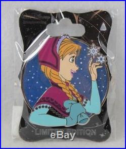 Disney WDI LE 250 Pin Heroines Profile Anna Frozen