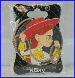 Disney WDI LE 250 Pin Heroines Profile Pixar Toy Story Jessie Yodeling Cowgirl
