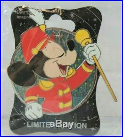 Disney WDI LE 250 Pin Profile Mickey Mouse Through the Years Band Leader Club