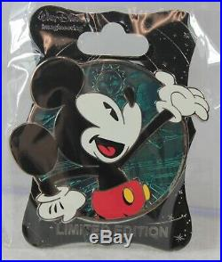 Disney WDI LE 250 Pin Profile Mickey Mouse Through the Years Shorts Pie-Eyed