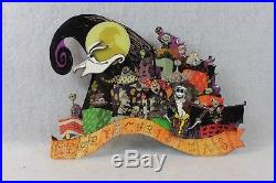 Disney WDI LE 300 Pin Haunted Mansion Holiday Nightmare Before Christmas Zero