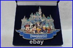 Disney WDI LE Pin Jumbo Disneyland 60th Anniversary Castle Diamond Celebration