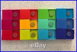 Disney WDI MOG D23 Expo 2019 Epcot Pavillion Rainbow Logo 12 Pin Set LE400 Each