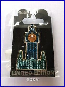 Disney WDI Main Street Electrical Parade 40th Anniversary Big Ben LE 200 Pin