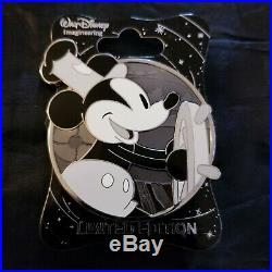 Disney WDI Profile Steamboat Willie Mickey Mouse Through the Years Pin LE 300