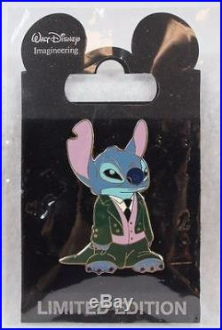 Disney WDI Stitch Dressed in Cast Member Costumes Haunted Mansion LE 300 Pin