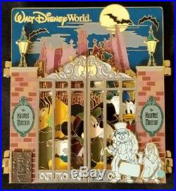Disney WDW 2006 E Ticket Attraction Haunted Mansion Ride Gate LE 500 Jumbo Pin