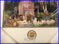 Disney WDW Mickeys Toontown of 6 Pin Frame Set Brers and the Bears LE 50