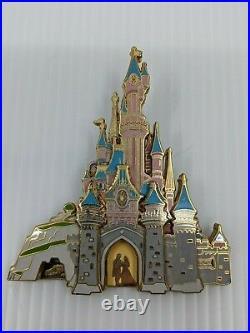 Disney WDW Pin Cast Member Castle Series Disneyland Paris Castle 3D