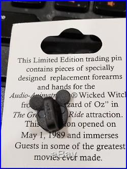 Disney WDW Pin Piece of History III The Great Movie Ride Wizard of Oz Witch