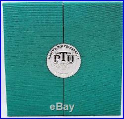 Disney WDW World Super Jumbo Pin PTU LE 300 Trading University Class Photo