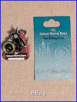 Disney World 2008 Great Movie Ride A Piece of Disney History Pin LE
