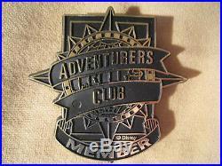 Disney World Adventurers Club Member Pin c. 1992