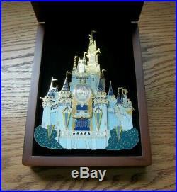 Disney World Happiest Celebration On Earth Cinderella Castle Super Jumbo Pin LE