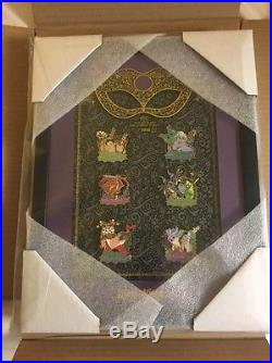 Disney World Not So Scary Halloween Party 2016 Framed Pin Set LE255 Sold Out NEW
