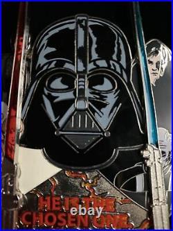 Disney World Star Wars Weekends 2012 Anakin Chosen One Le 500 Jumbo Pin New Nrfb