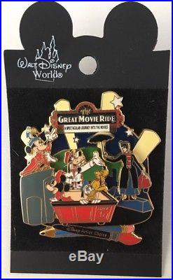 Disney World The Great Movie Ride Artist Choice On With The Show LE3500 Pin