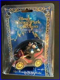 Disney World Theme Park Collection Die Cast Metal Vehicle Mr. Toads Wild Ride