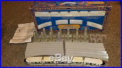 Disney World Theme Park Collection Monorail Model Set Complete Rare Htf