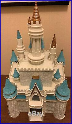 Disney World Theme Park Monorail Cinderella Castle Playset + Figures & Extras