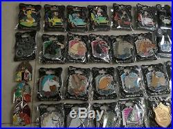 Disney pick park Alice flower dumbo stitch princesses horse 76 pins LE badges