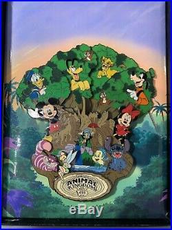 Disney pin LE 500 Jumbo Tree of Life Animal kingdom Route 498 Event