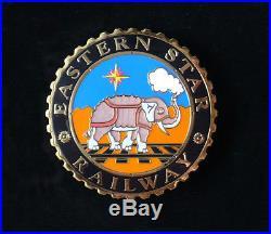 Disney's Animal Kingdom Eastern Star Railway Cast Costume Prototype Pin Rare