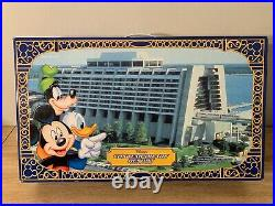 Disney's CONTEMPORARY RESORT Monorail Playset Theme Park Toy Accessory Boxed