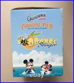 Disney's California Adventure Paradise Pier Orange Stinger Toy Rare See Pics