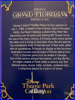 Disney's Grand Floridian Resort & Spa Monorail Toy Accessory Theme Park withBox