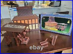 Disney's POLYNESIAN RESORT Monorail Playset Theme Park Toy Accessory Boxed D499