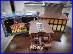 Disney's POLYNESIAN RESORT Monorail Playset Theme Park Toy Complete
